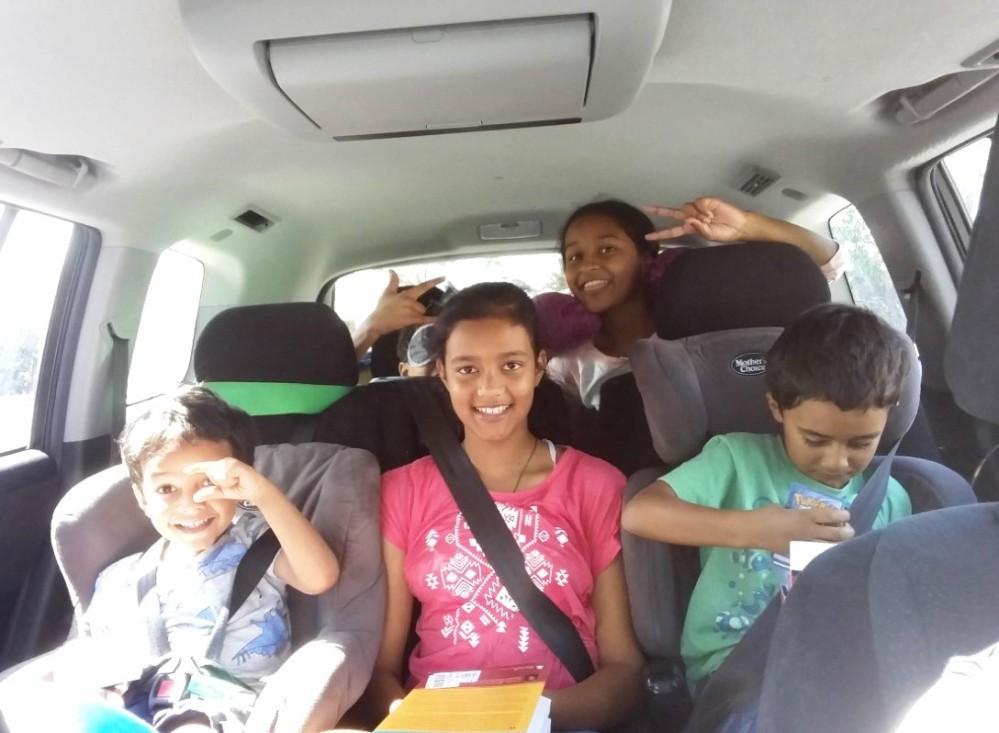 Road trip kids